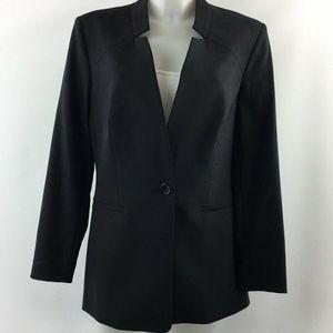 Michael Kors Black Blazer Jacket Size 10